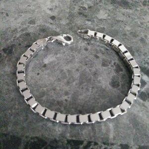 Ross Simons Box Chain Bracelet 7 Inch